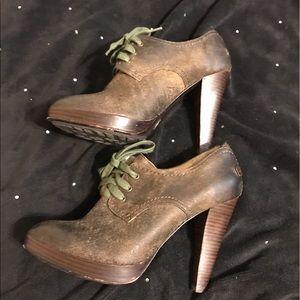 Frye Shoes - Frye Distressed Booties