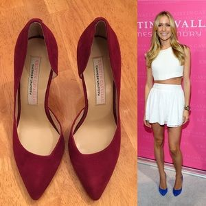Chinese Laundry Shoes - Kristin Cavallari Copertina D'Orsay Pump in Red