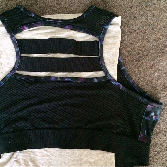 Champion Intimates & Sleepwear - Watercolor Sports Bra with Ladder Back