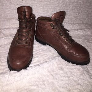 Easy Spirit Shoes - Easy spirit brown leather ankle boots