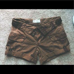 Free People Pants - Free People cargo safari shorts