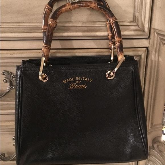 9aedfd8e8877 Gucci Bags   Bamboo Shopper Leather Mini Bag   Poshmark