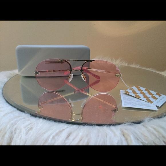 53cb8fa9b368 Karen Walker Love Hangover Sunglasses - Pink