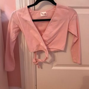 Capezio Other - Pink girls ballet shrug