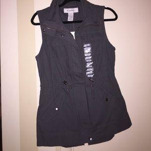 Sebby Jackets & Blazers - Grey vest
