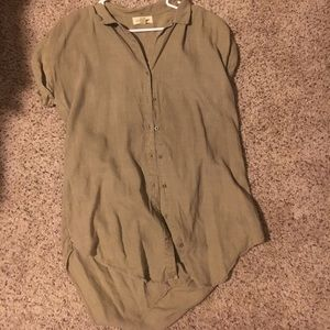 Anthropologie cloth & stone button up!