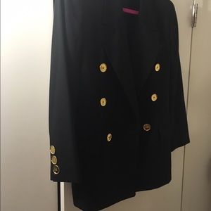 Christian Dior Jackets & Blazers - Christian Dior Vintage Blazer with Gold Buttons