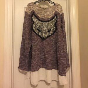 Avenue Sweaters - 🔥NWOT- FOXY KINDA SWEATER