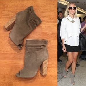 Chinese Laundry Shoes - Kristin Cavallari Laurel Peep Toe Ankle Booties