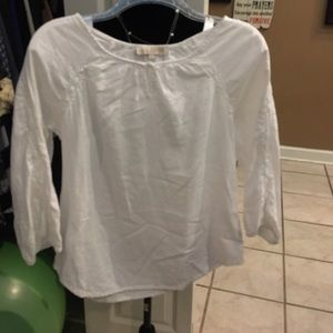 ROSE & THYME white shirt small