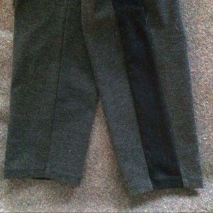 Narciso Rodriguez Pants - Narciso Rodriguez x Kohls Cropped Tuxedo Leggings