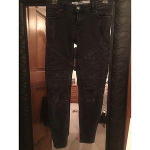 Moto black skinny jeans
