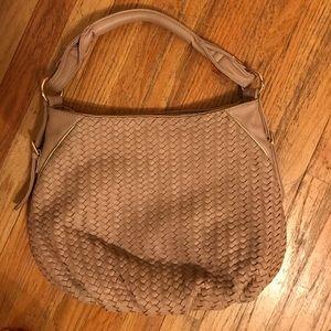 Deux Lux woven bag