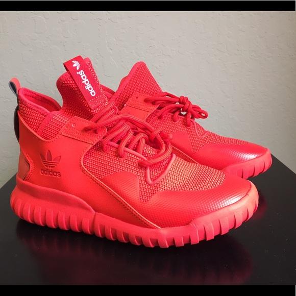 42% de descuento zapatillas adidas Originals tubular x triple Octubre Rojo 85