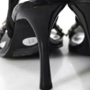 Haute Ellie Shoes - 🎉 HP 🎉 ELLIE NIB LEATHER & RHINESTONES SZ 7