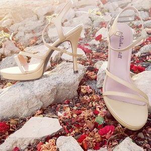 Alisha Hill Shoes - Alisha Hill Tan Heels