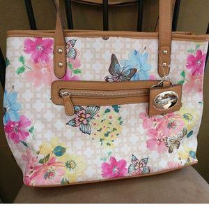 Rosetti Handbags - Rosetti Floral Butterflies Tote