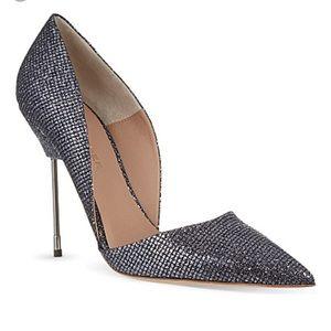 kurt geiger Shoes - Kurt Geiger Grey Glitter D'Orsay Heels
