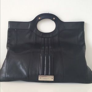 L.A.M.B. Handbags - Large Black leather L.A.M.B bag