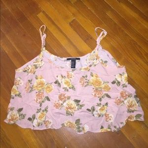 Forever 21 Tops - NWOT Pink Crop Top