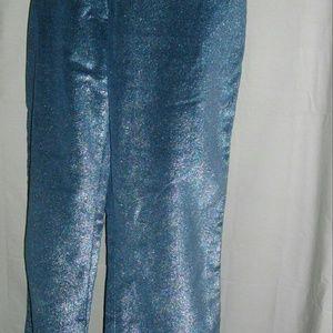 Armani Jeans Pants - Navy Blue Silver Armani Jeans Medium USA 10 EUR 42