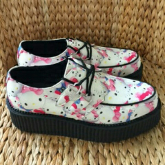 Hello Kitty by Tuk Creepers size 10