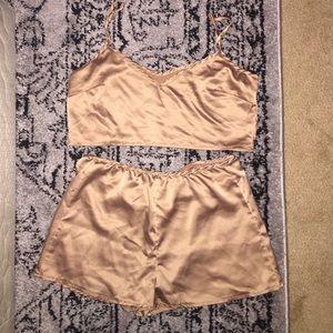 PacSun Tops - Silk 2 piece set
