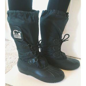 Sorel Shoes - Sorel Black Snow Boots