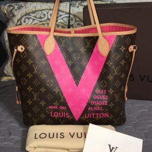 Louis Vuitton Handbags - Louis Vuitton Neverfull Grenade V Neverfull MM