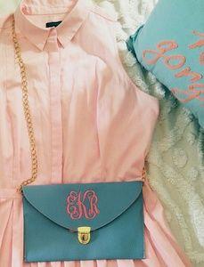 Handbags - Monogram Envelope Crossbody Bag