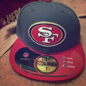 Nfl Other - 49er baseball hat 🏈 NWT
