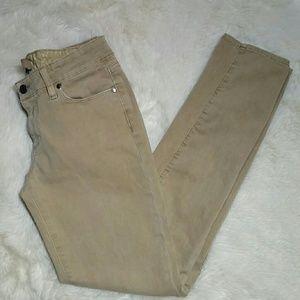 Paige Jeans Denim - Paige Skyline Skinny Stretch Khaki Jeans Size 27