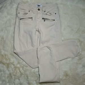 Paige Jeans Denim - Paige Skinny Stretch Jeans Indio Zip Size 27