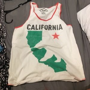Altru Tops - California state tank from urban outfitters