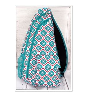 Turquoise Sling Backpack