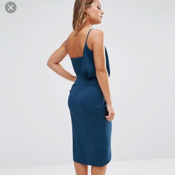 ASOS Dresses - *like NEW* ASOS petite asymmetric dress