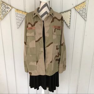 Other - Authentic Army Desert Camouflage Surplus Jacket