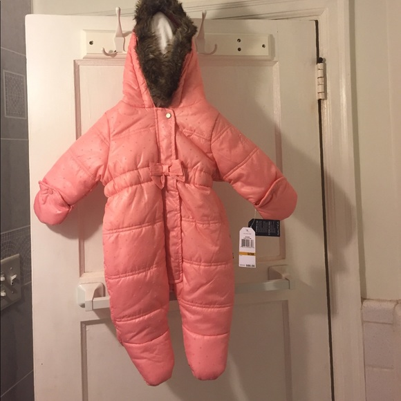 baby girl snowsuit 0-3