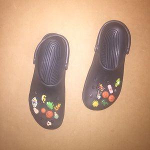 CROCS Other - Black crocs, great for summer