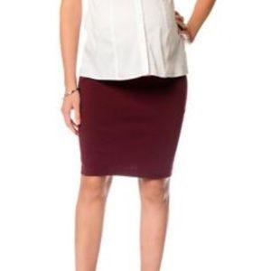 Motherhood Maternity Dresses & Skirts - Motherhood Maternity Pencil Skirt