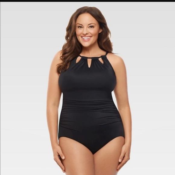 5061ace996835 Miraclesuit Swim | Nwt Dreamsuit By Miracle Brands Plus Size Suit ...
