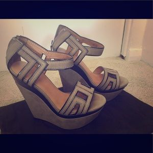 L.A.M.B. Shoes - L.A.M.B. Wedge sandals