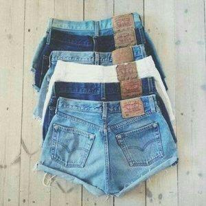 Levi's Pants - Make your own vintage Levi's hi cut shorts