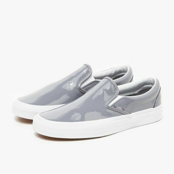 3b70388264ebfd Vans Classic Slip On Patent Leather