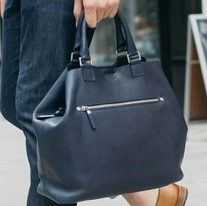 Shinola Handbags - Shinola Detroit Navy Large Leather Tote REDUCED