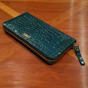 kate spade Handbags - Kate Spade Crocodile embossed leather wallet