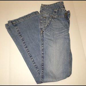 refuge Pants - Light wash, flare jeans