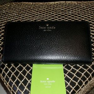kate spade Handbags - KATE SPADE LEATHER WALLET