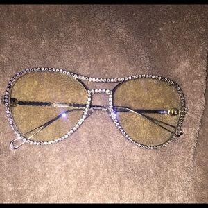 Accessories - Rhinestone personality glasses