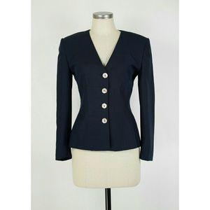 Christian Dior Jackets & Blazers - Vintage Christian Dior raw silk blazer jacket